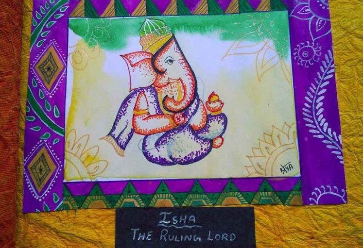 Shreyas Ganapathi Art - Isha