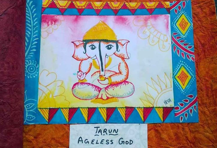 Shreyas Ganapathi Art - Taruna Ganapa