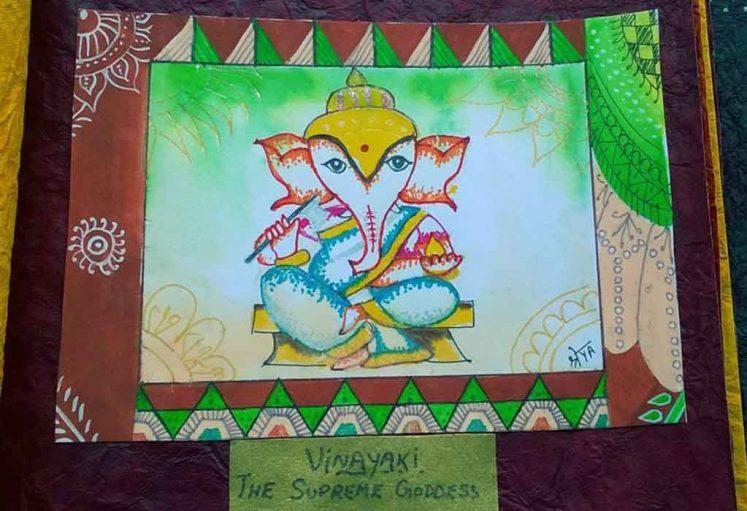 Shreyas Ganapathi Art - Vinayaka