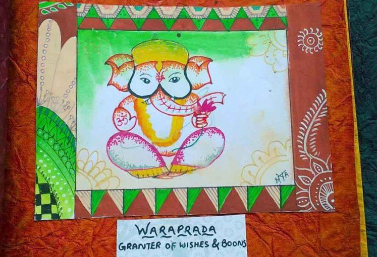 Shreyas Ganapathi Art - waraprada