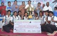 ಆಳ್ವಾಸ್ : ಅಖಿಲ ಭಾರತ ಬಾಲ್ ಬ್ಯಾಡ್ಮಿಂಟನ್ ಪ್ರಶಸ್ತಿ