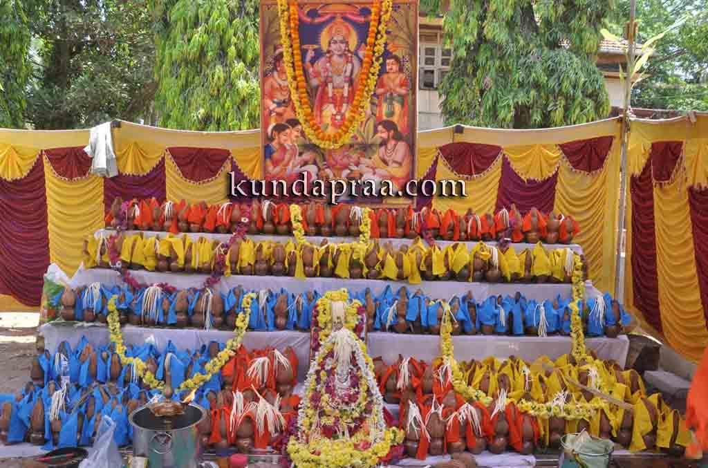 ಗಂಗೊಳ್ಳಿ: 505 ಕಲಶಗಳ ಸಾಮೂಹಿಕ ಶ್ರೀ ಸತ್ಯನಾರಾಯಣ ಪೂಜೆ