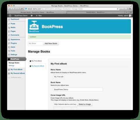 bookpress-exemple
