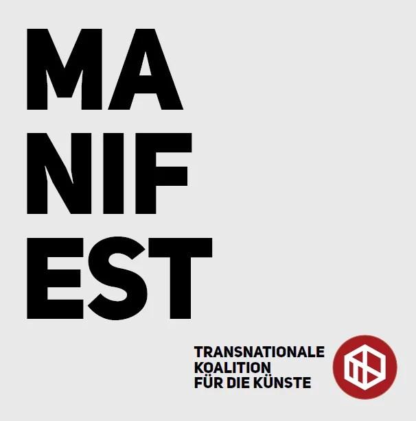 Abbildung des Manifests von Transnation Art