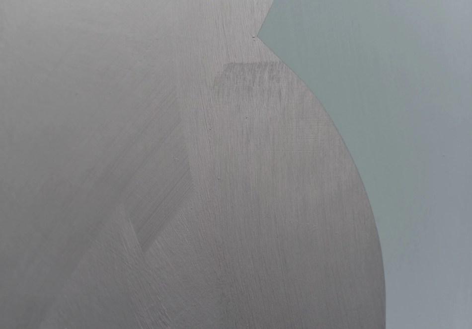 Detail Florina Leinß. pic178.21unlocked. 2021. Graphit, Dispersionsfarbe auf HDF 150 x 150 cm. © Florina Leinß