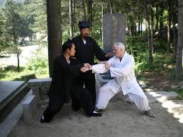 Enseñando Kung Fu en Wu Dang