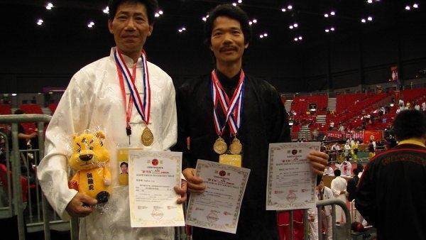 Samson Yip and Sam Jian won the Weapons Duel