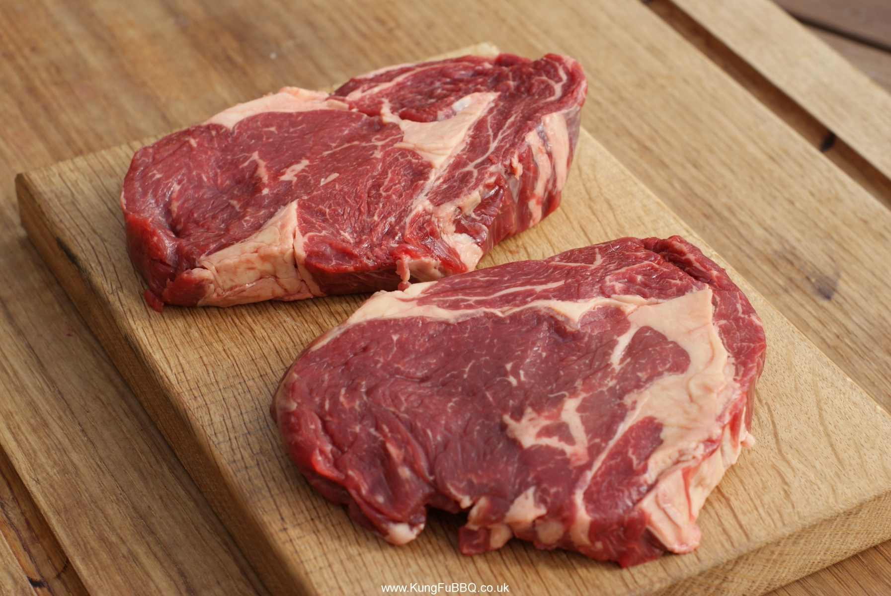 Bbq25 17 British Quot Old Cow Quot Rib Eye Steaks Kungfubbq