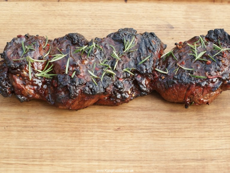 DJ BBQ Chilli-Glazed Leg of Lamb