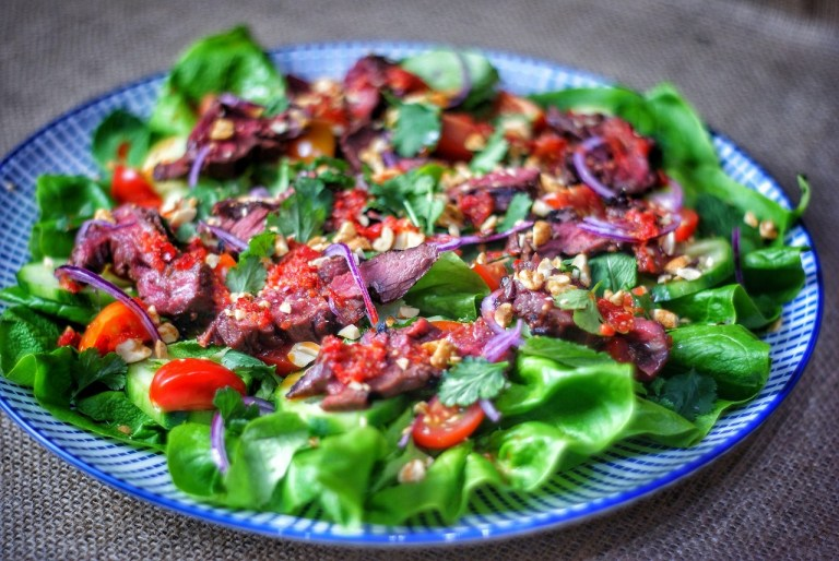 Spicy Thai Beef Salad