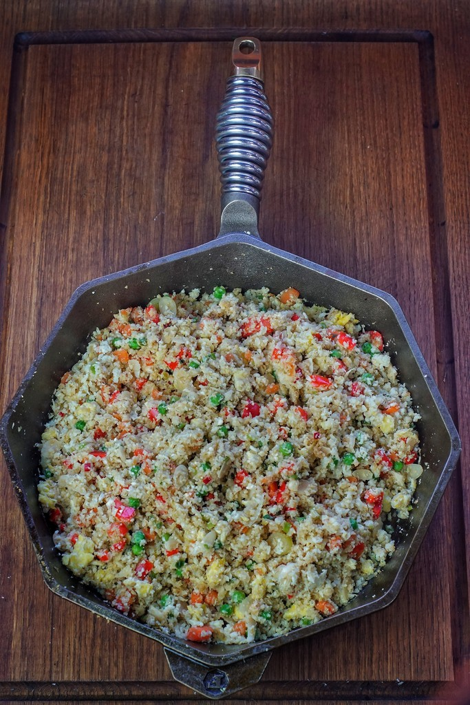 Cauliflower Egg Fried Rice