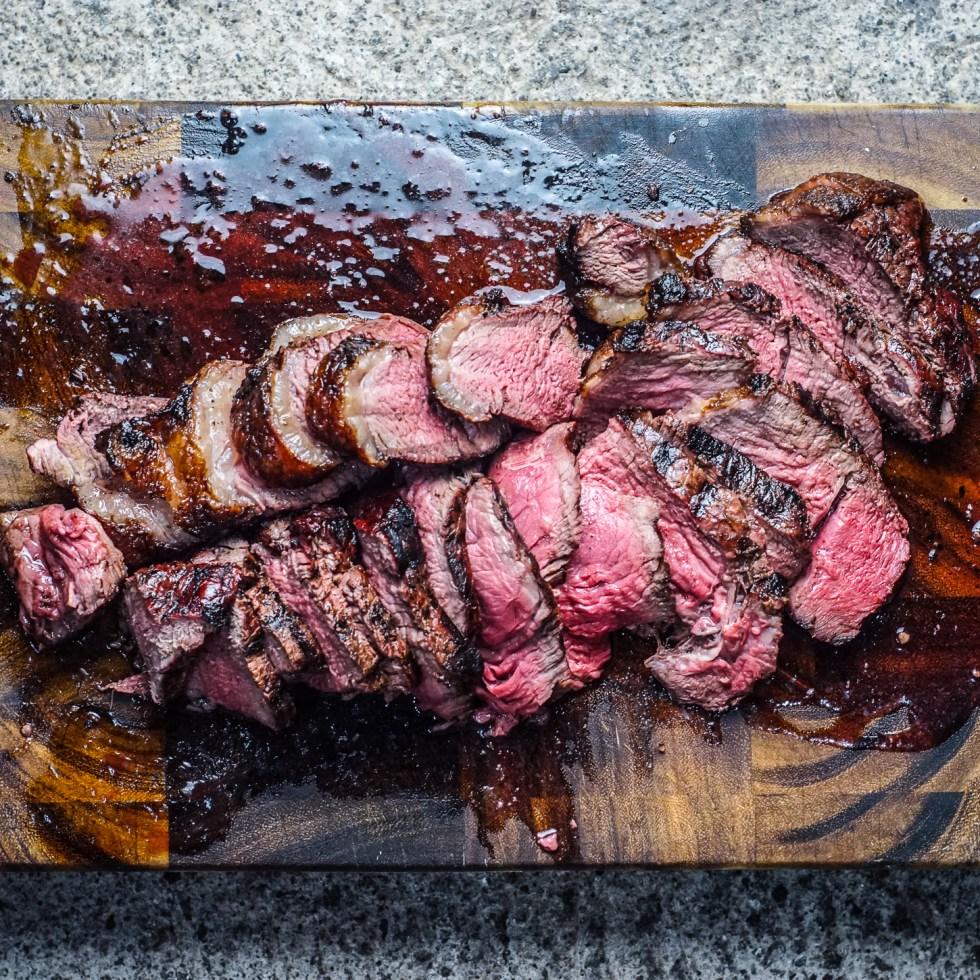 Rump Steak Santa Maria Style