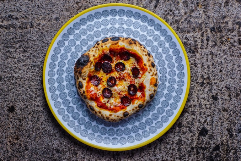 Sobrasada, Mahon cheese, Menorcan Olives and Olive oil, Red Onions