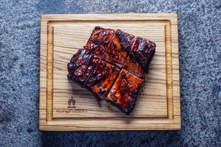 Hot Smoked Pork Belly