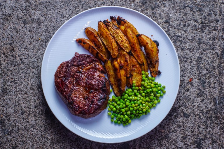 Steak and Wedges