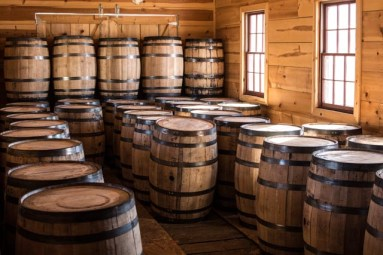 Each barrel is handmade and contains no glue or adhesive.