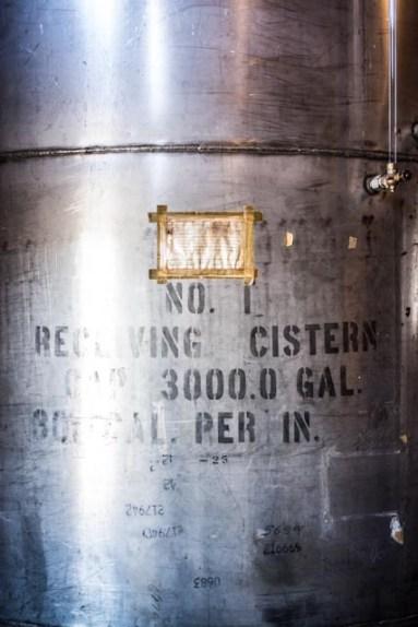 Pre-aged alcohol Cistern