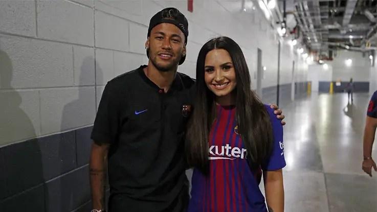 neymar-demi-lovato
