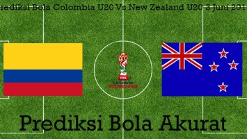 Prediksi Bola Colombia U20 Vs New Zealand U20 3 Juni 2019