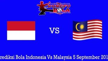 Prediksi Bola Indonesia Vs Malaysia 5 September 2019