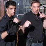 Jawed El Berni with Gary Daniels