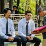 Kane, Scott and director Isaac