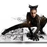 Lauren becoming Catwoman!