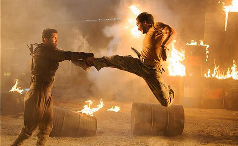 Ninja 2, Tim Man and Scott Adkins