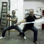 Donnie Yen and Bey Logan