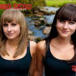 Lauren and Sian Edmunds