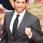 Scott at the UK premiere of The Expendables 2