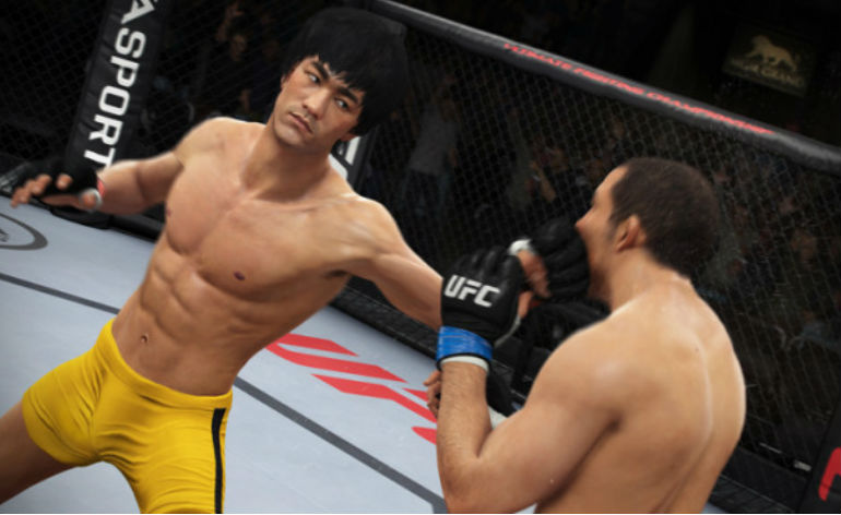 Bruce Lee as a playable character in UFC videogame!