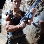 Silvio does Rambo!