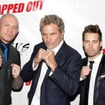 L-R: Krzysztof Soszynski, Martin Kove and Cody Hackman at the red carpet premiere of Tapped Out