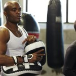 Cody and Anderson Silva get ready for action!
