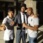 Marrese (right) with Rza and Tony Jaa