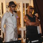 RZA and Marrese on set of TYG2