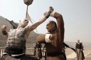 A great action shot from the movie True Legend