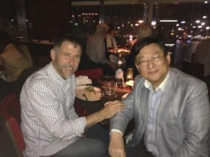 Keith with producer Ng See-yuen