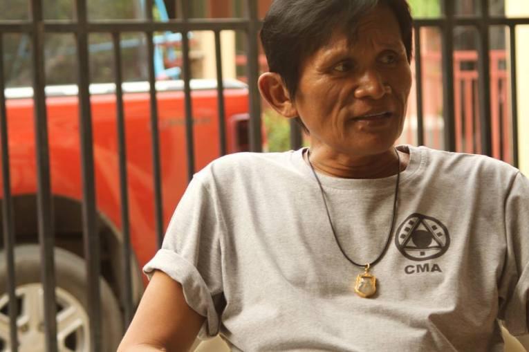 Panna Rittikrai wearing CMA shirt