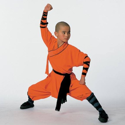 Classic Shaolin Big Battle pose