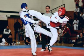Counterattacking is a science in TKD