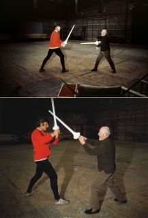 David Prowse and Alec Guinness learned Kendo for the original film