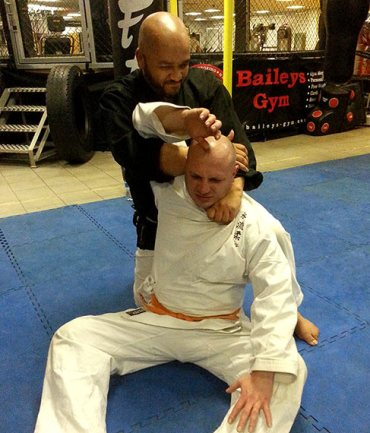 How to perform the Kata Ha Jime (choke hold)