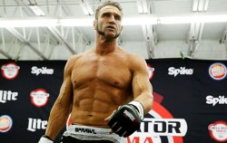 Ken Shamrock UFC Hall of Famer also starred in the movie Champions