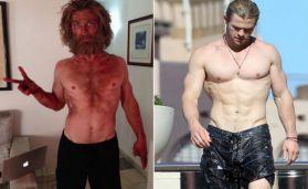 Chris Hemsworth's physical transformation! -Kung Fu Kingdom