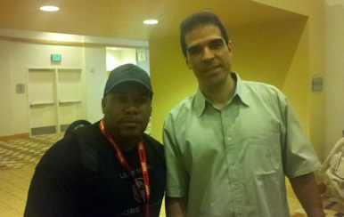 Larnell meets Mortal Kombat co-creator Ed Boon