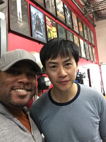 Larnell meets the Man of Tai Chi, Tiger Chen!