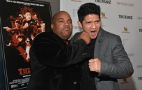 Larnell socks it to Raid main star Iko Uwais!