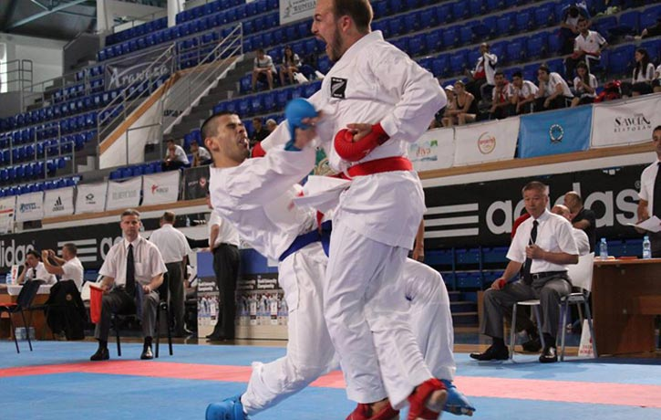 Karate Competition sparring